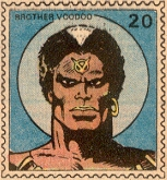 Brother Voodoo Marvel Value Stamp #20