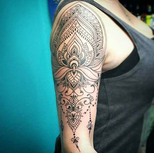 kadın kol dövmeleri mandala arm tattoo for woman