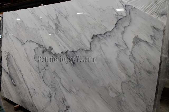 Calacatta Apuano White Marble Slab