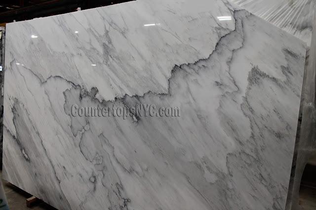 Calacatta Apuano White Marble Slab