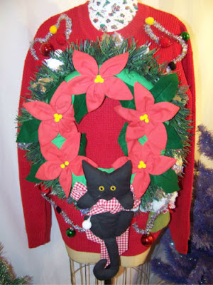 Catsparella: The 6 Ugliest Cat Christmas Sweaters of 2011