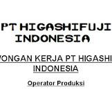 PT Higashifuji Indonesia Lowongan Kerja Cikarang SMA SMK