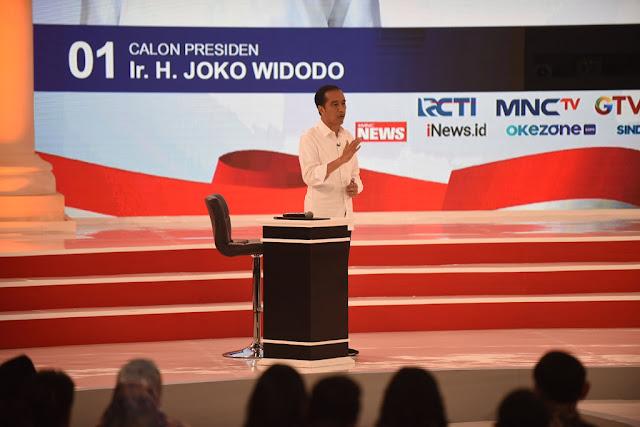 <i>Civil Society</i> Nilai Jokowi Gagal di Debat Capres