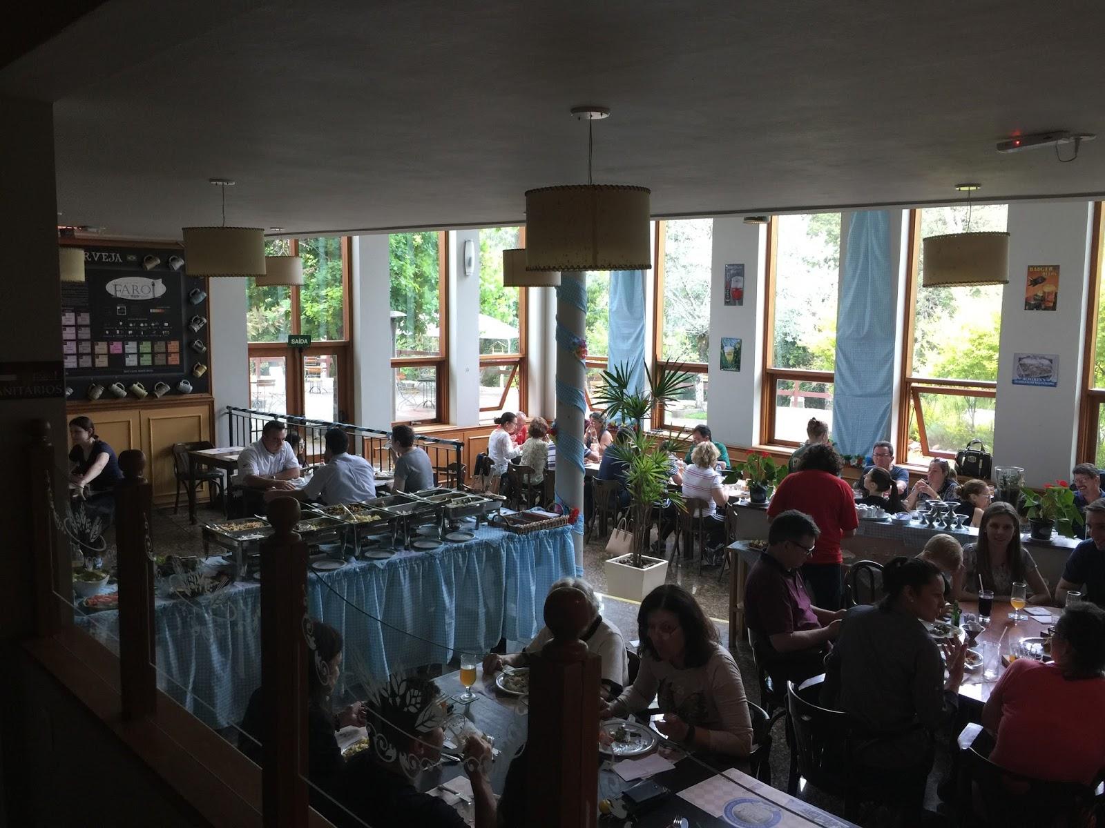Restaurante da cervejaria Farol
