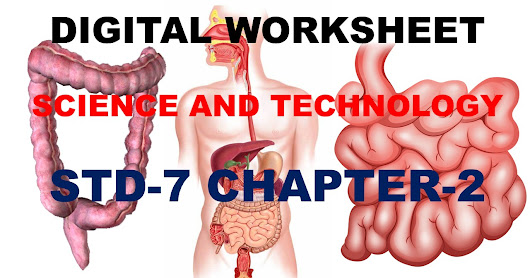DIGITAL WORKSHEET SCIENCE STD-7 CHAPTER-2
