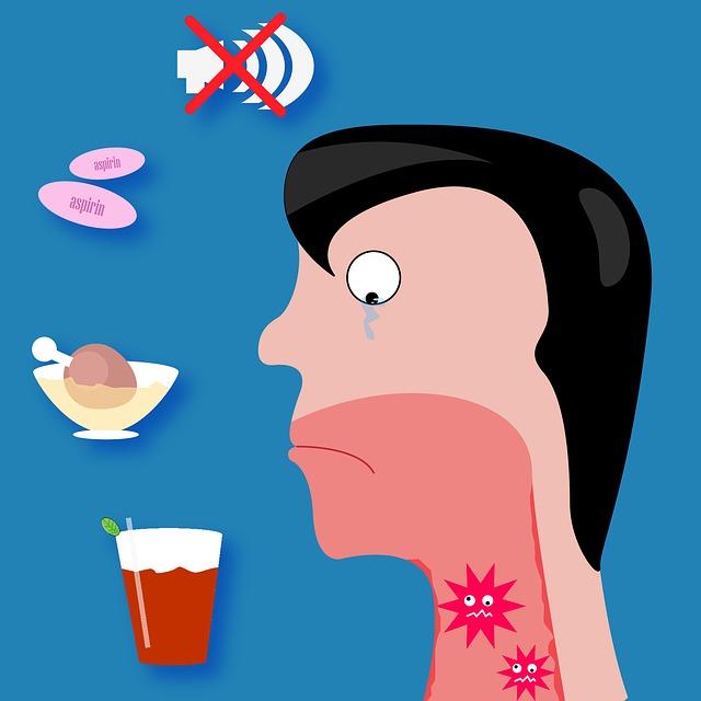 علاج تضخم اللوزتين واللحمية