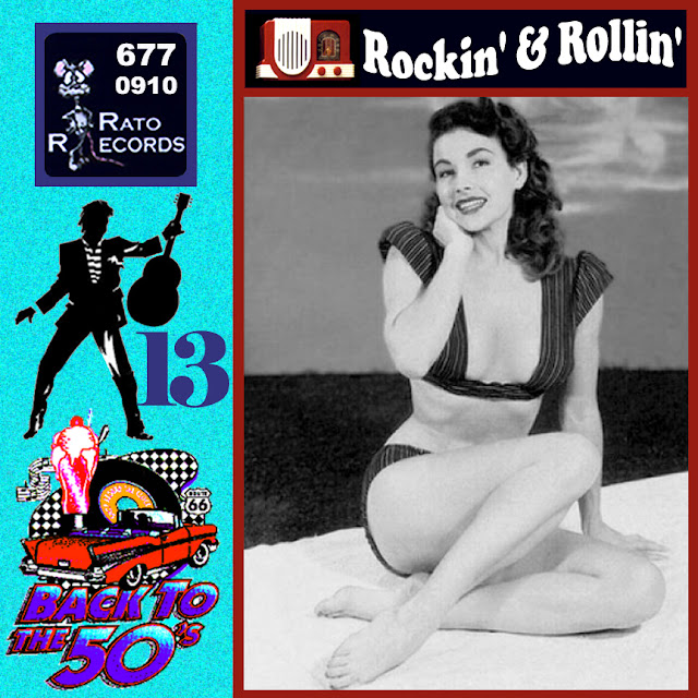 Cd collection Back To The 50's - Rockin' & Rollin' 13 Front