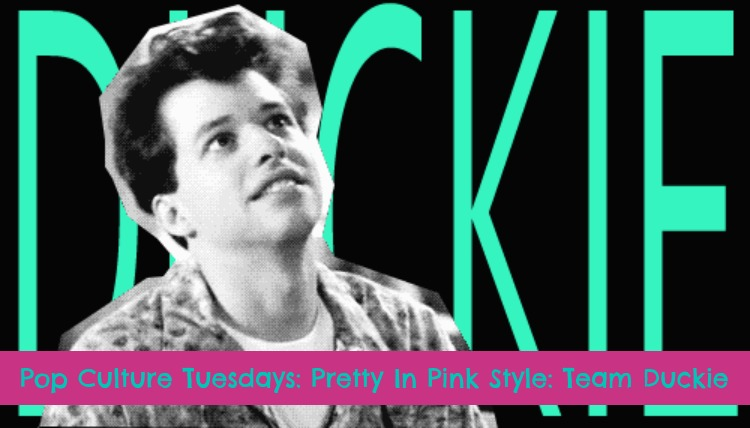 A Vintage Nerd, Vintage Blog, Pop Culture, Team Duckie, Pretty in Pink Fashion, Retro Lifestyle Blog