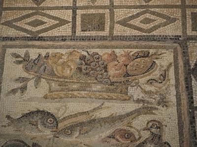 Un ananas in un mosaico dell'antica Roma?
