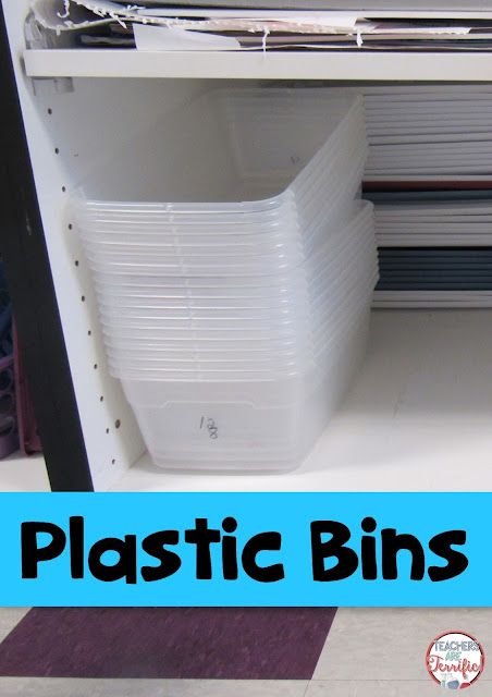 STEM: What one supply does your science or STEM class need the most? Plastic bins! Check this post for more great tricks about supplies!