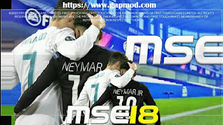FTS 15 Mod MSE 18 v5 by Rafaelplays Apk + Data Obb