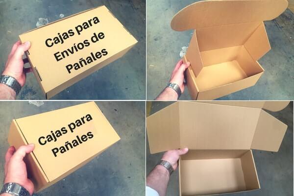 cajas para pañales