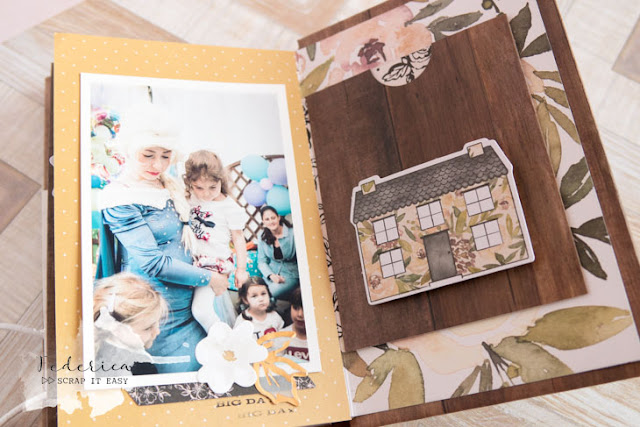 scrapbook mini album memories by kushi per Scrap it Easy