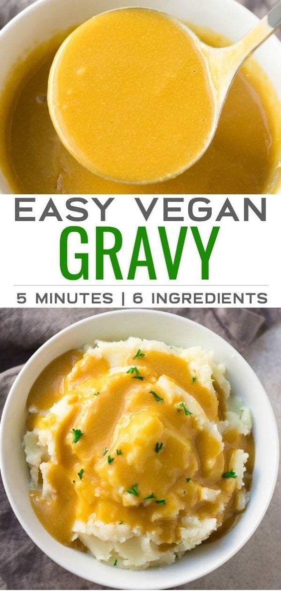 Easy Vegan Gravy