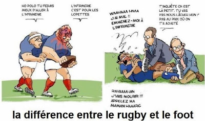 Humourla Différence Entre Le Rugby Et Le Foot  Mots Clés
