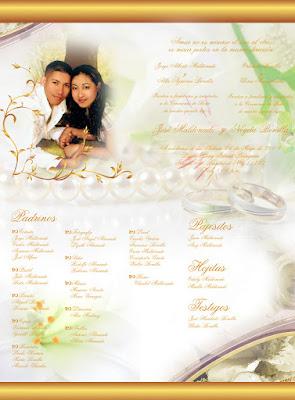 Tarjeta de Invitación para Boda Dorada Personalizada con Fotografía