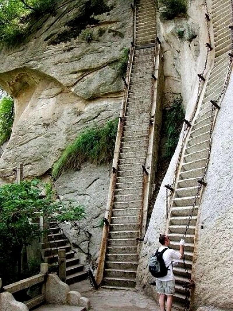중국의 흔한 등산코스