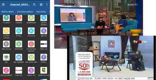 install IPTV dan daftar channel dalam dan luar