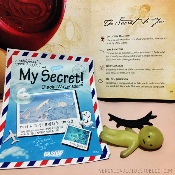 B&Soap My Secret! Glacial Water Mask Review