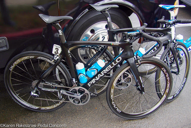 Pinarello road bike Team Sky