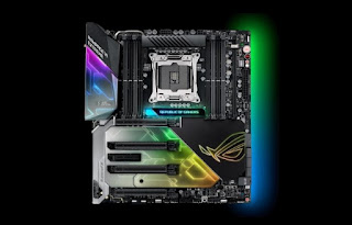 This is the X299 Asus ROG Rampage VI Extreme Latest Motherboard