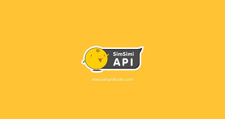 API Simsimi