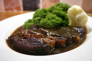 Braised Beef Steak