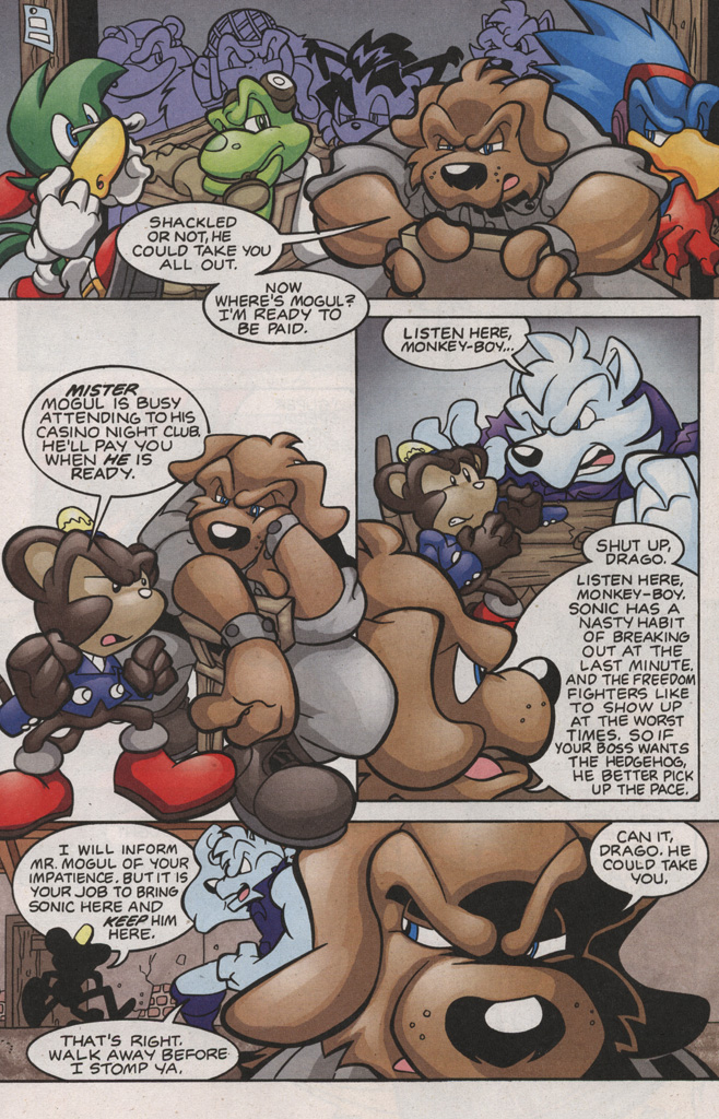 Read online Sonic The Hedgehog comic -  Issue #188 - 12