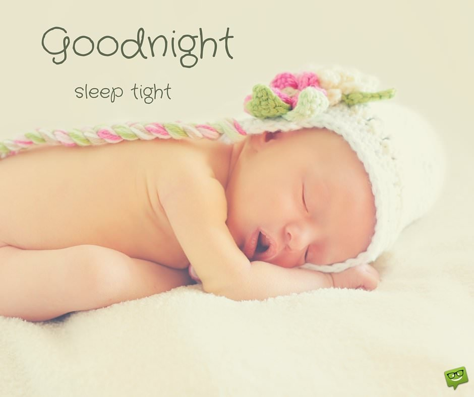 Good Night Sleep Tight Baby Pics for Whatsapp