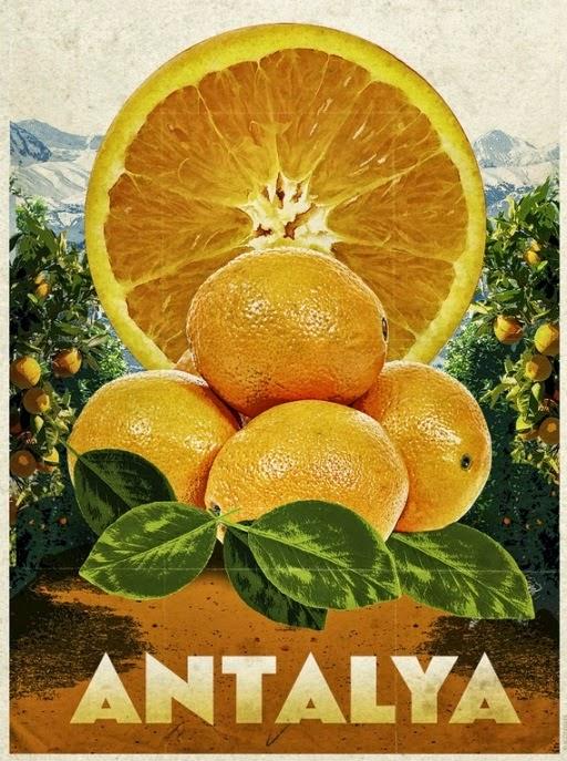 апельсин символ Анталии