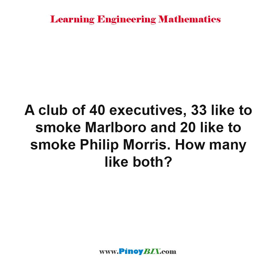 How many like both Marlboro and Philip Morris?