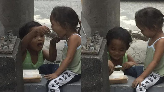 This Couple Gave Food To A Street Kid, But What They Saw After Really Moved Them! READ IT HERE!