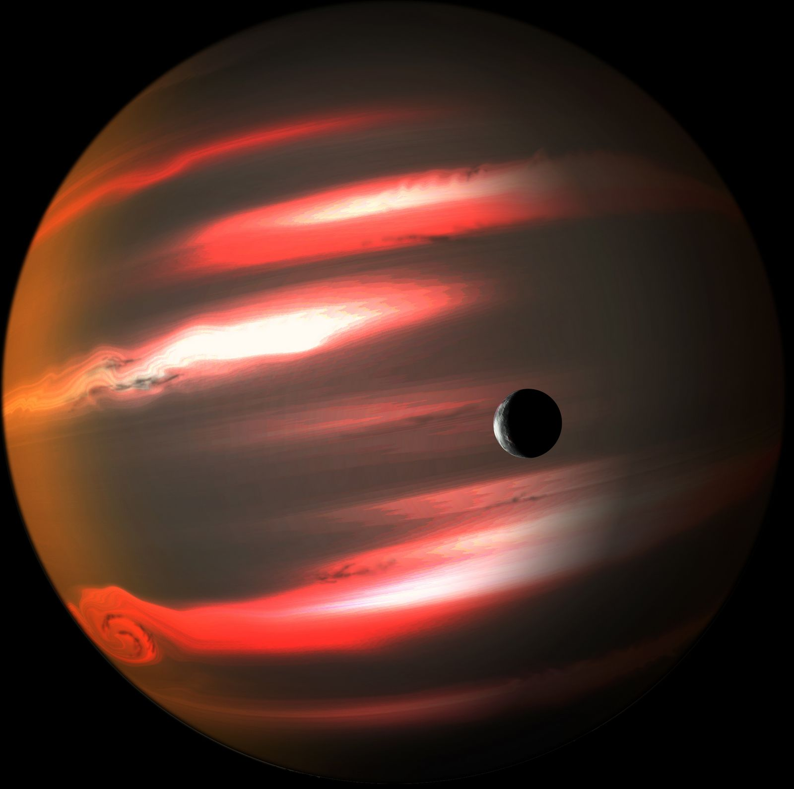 Premise Indicator Words: Beyond Earthly Skies: Jet-Black Exoplanet
