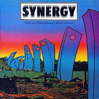Portada del LP de Electronic Realizations For Rock Orchestra de Synergy