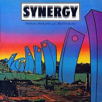 Portada del LP de Electronic Realizations For Rock Orchestra de Synergy