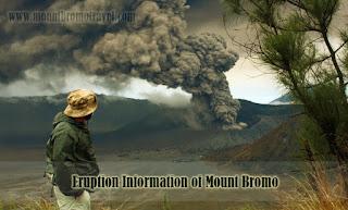 Eruption Information of Mount Bromo