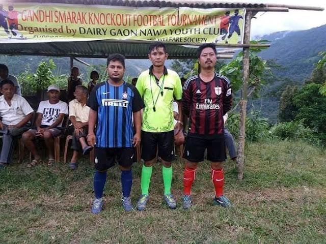 Gandhi Smarak Knockout Football Tournament Dairy Gaon Nawa Youth Club