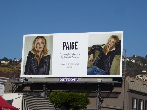 Paige Holidays 2017 billboard
