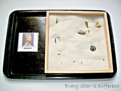 Ancient Egypt Dig Match Up (Free Printable)