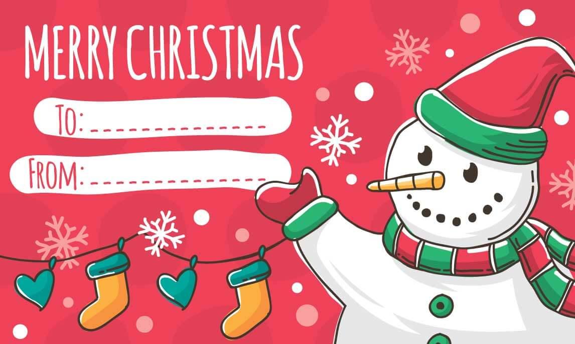 christmas cards printable free