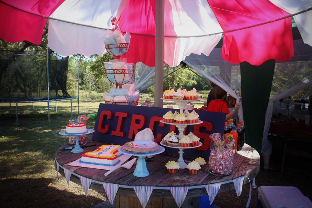 Diy Carnival Party Big Top Tent Southern Revivals