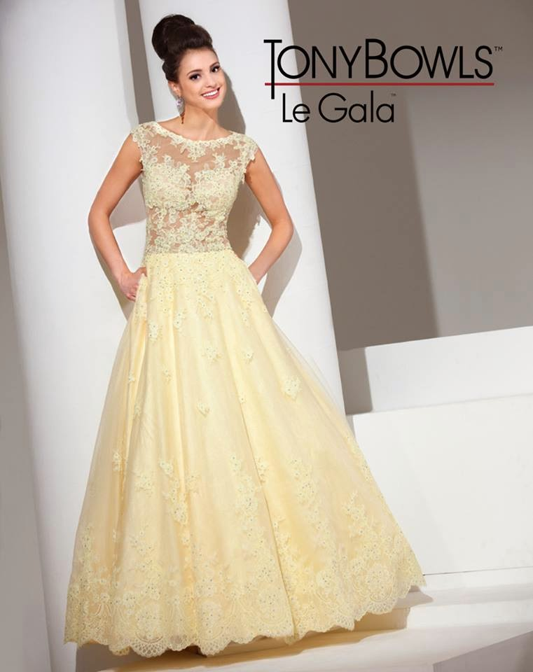 Latest Party Wear Proms & Gowns For Young Girls By Tony ...