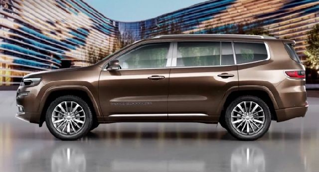 2018 Jeep Grand Cherokee 7 Seater
