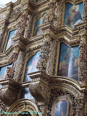 Старочеркасск фото резной иконостас собор