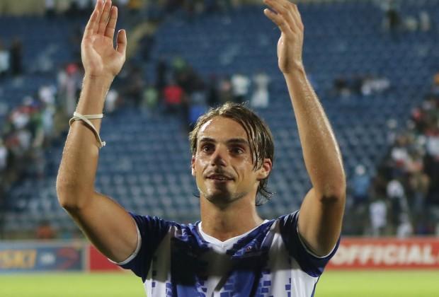 Maritzburg united striker Andrea Fileccia