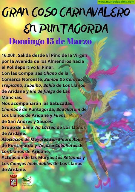 Gran coso Carnavalero en Puntagorda 2020