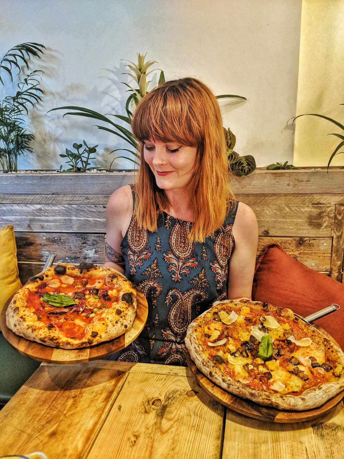 Pizzas from Purezza in Camden that are entirely vegan & absolutely delicious!