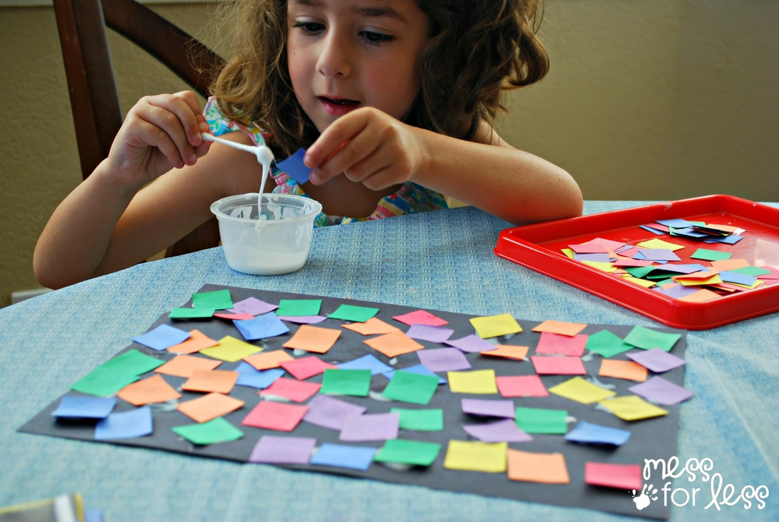 Art Activity Square Collage
