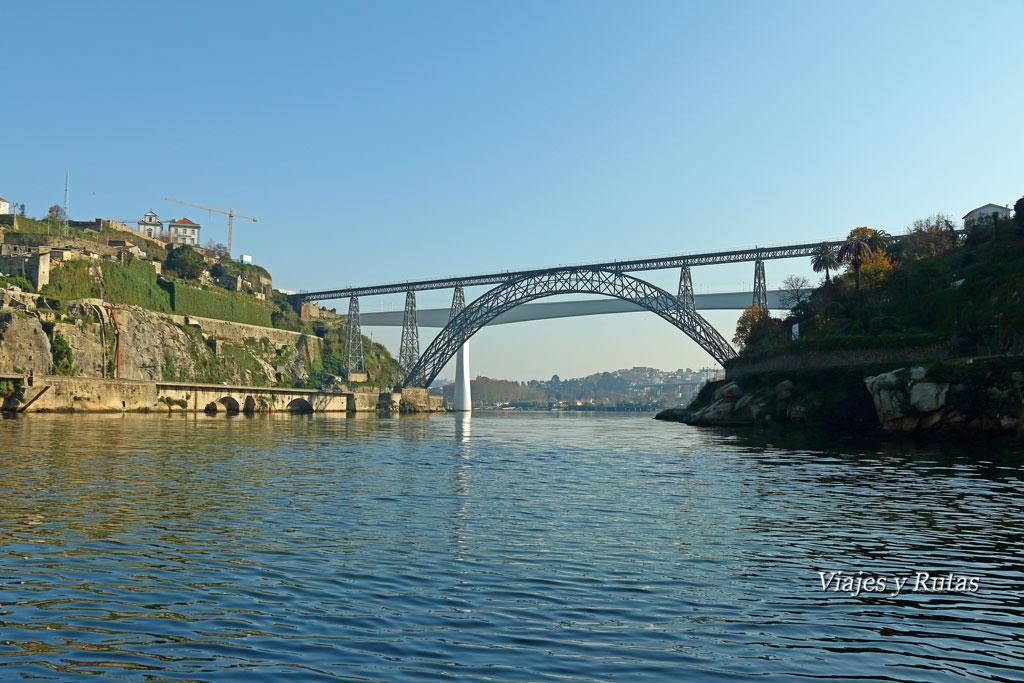Crucero de los seis puentes de Oporto