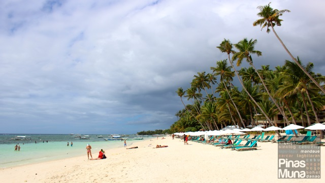 Beachfront of Henann Resort Alona Beach Bohol